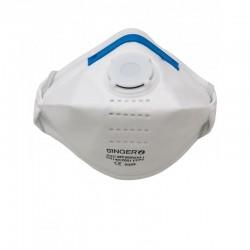 Demi-masque FFP3 NR D avec valve boite de 20 pièces