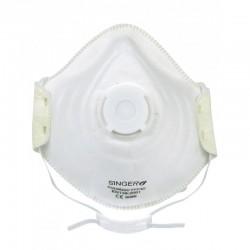 Demi-masque FFP3 NR D confort avec valve respiratoire boite de 10