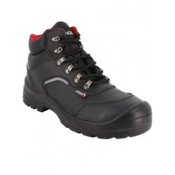 Chaussures hautes de sécurité cuir croûte lisse S3 SRC