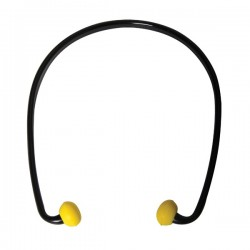 Bouchons d'oreilles avec arceau SNR 21 dB NF EN 352
