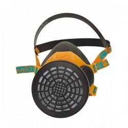 Demi masque respiratoire CLIMAX 761 caoutchouc 1 filtre 760