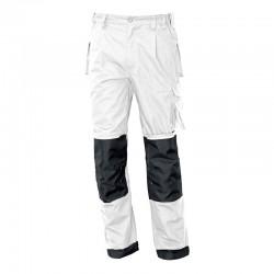 Pantalon de travail blanc